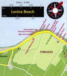 Карта курорта Ловина