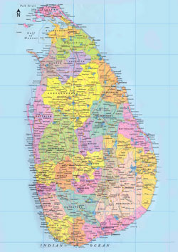map sri-lanka, карта шри-ланки